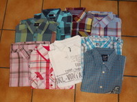 40€ le lot 9  chemises 8 ans