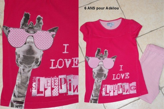 Pour Adélou T 6 ANS