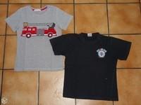 8 ans lot thème pompiers 5€