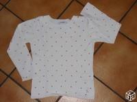 2e Pull okaidi ( mini tache ) 2€