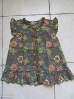 3e blouse fleurie 6 ans