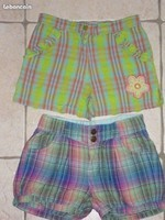 4€ lot de 2 shorts 5 ans