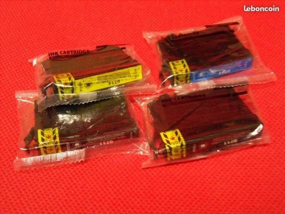 4€ lot de 4 cartouches encre Epson Mr de Clichy sous bois le 13-07-17