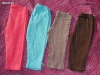 3e Taille 3-4 ans lot de 4 leggings