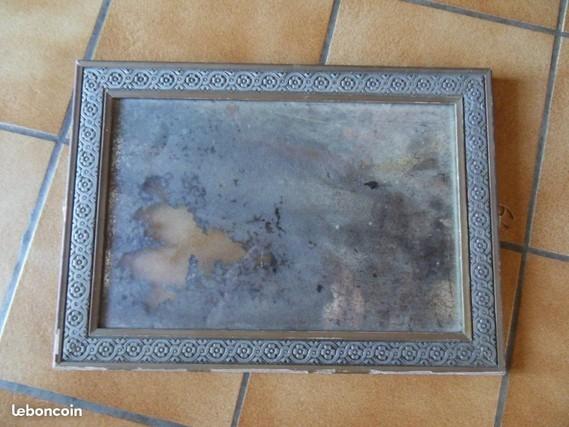 15e Miroir ancien cadre en platre ANELISE d'Asnières LBC le 23-09-17