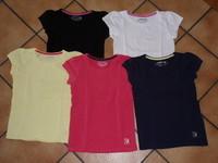 6€ lot 5 t.shirts basic orchestra 5 ans