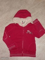9€ Orchestra doublé sherpa Taille 6 ans