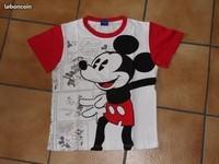 2€ T-shirt Disney Mickey en BD 10 ans