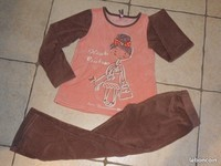 3€ Pyjama Orchestra N° 4 Taille 8 Ans