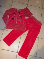 4€ Pyjama orchestra N° 5 taille 8 Ans