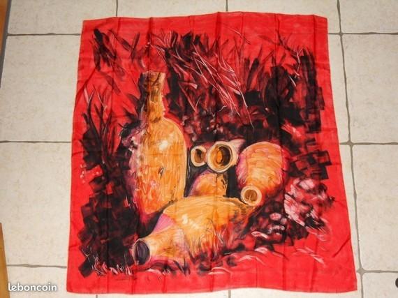 5€ foulard soie Fourneret-A-Sophie-LBC le 04-05-20