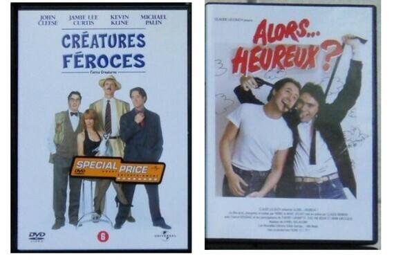 2,30€ le lot de 2 DVD Yann D sur LBC le 17-08-20
