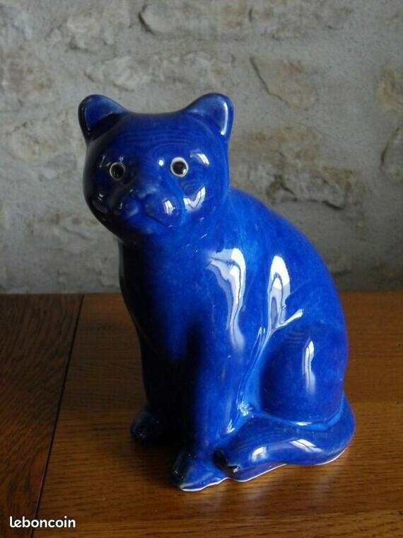 1€ le chat céramique 17 cmLBC le 08-09-20