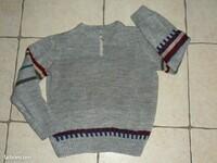 3€ Pull tricoté main Taille 10 Ans LBC le 05-12-20