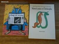 3€ lot 2 livres ecole des loisirs Jennifer M LBC le 25-05-21
