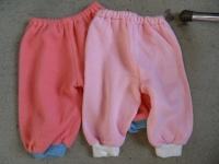 """pantalons"""" fait maison"""" molletonés 3/6 mois CADEAU"""
