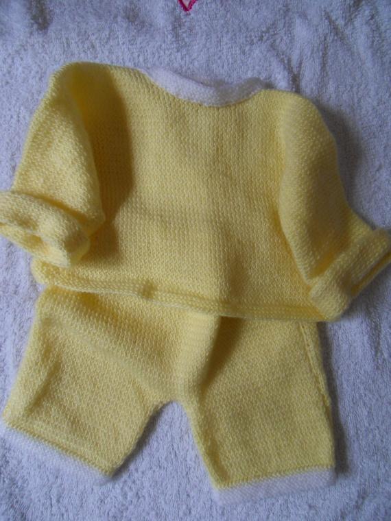 tricot main  0.50 euros clarisse