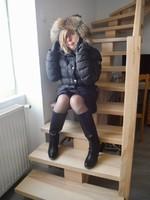 Escalier en doudoune