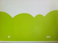 2eme couches de peinture verte beaucoup plus jolie
