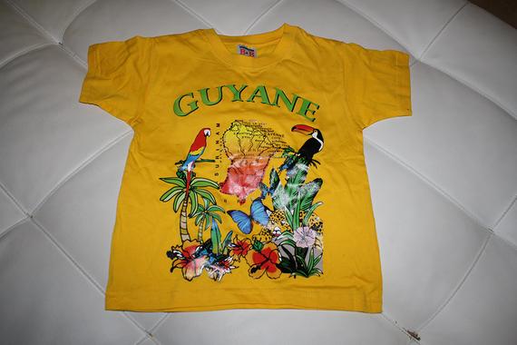 T shirt de Guyane