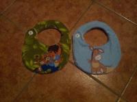 1ers bavoirs pour les fils de ma Ninie :)