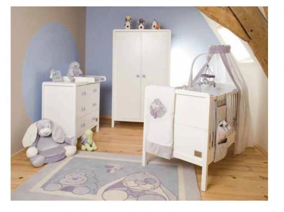 Arthur et Merlin chambre - du00e9co bu00e9bu00e9 - leti_b1 - Photos - Club ...