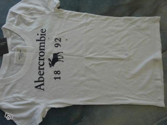 Tee shirt blanc femme S & M