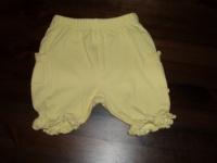 short jaune coton taille 68 2 euros
