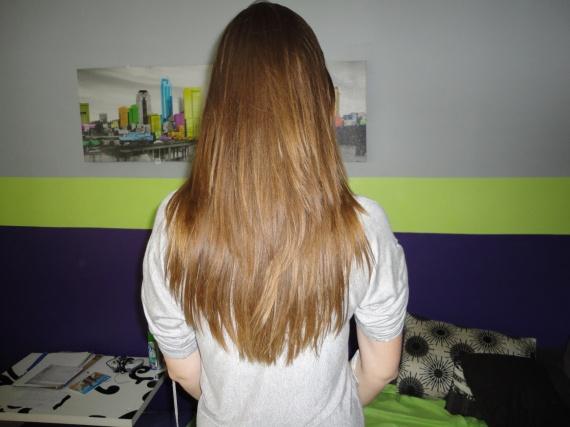 coiffure degrade dans la masse