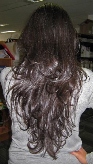 Coupe Degrade En V Cheveux Long Coupes De Cheveux A La Mode