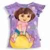 """Tee-shirt violet """"DORA""""-110 cm (5 ans) par C&A."""