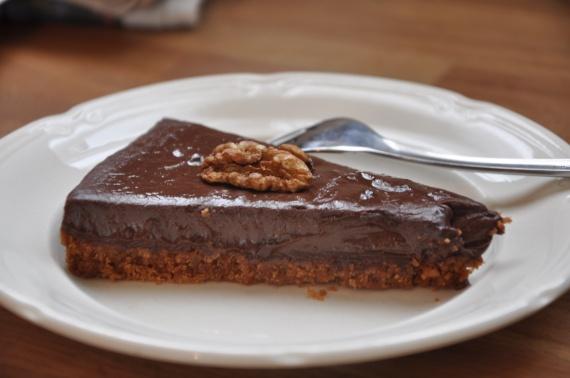 tarte au chocolat p 226 te au speculoos v 233 g 233 talien vegan spiritual jo photos club doctissimo
