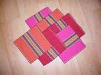 serviettes de table avec chutes tissu Artiga pour ma mère
