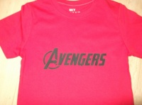 Avengers vue de face
