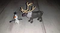 Figurines Sven et Olaf 1€ les 2