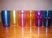 vases peints par Tom pour Noël