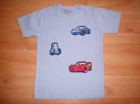Tshirt Cars 4 ans