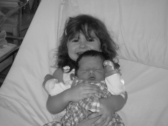 Avec ma grande soeur, Noéline l'adoree