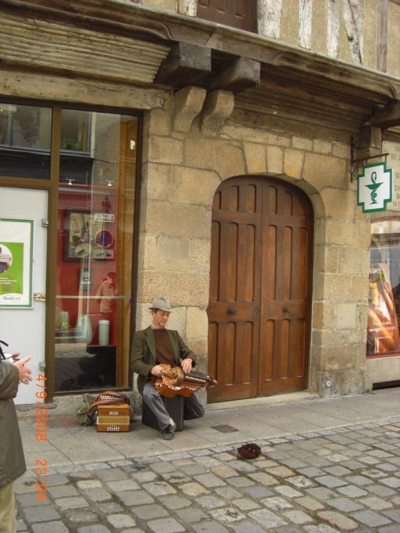 Un musicien Breton