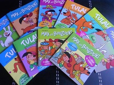 Max et Bouzouki TULALU NEUF! 1€75 le livre