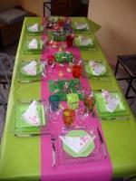 Table anniv' Valentine