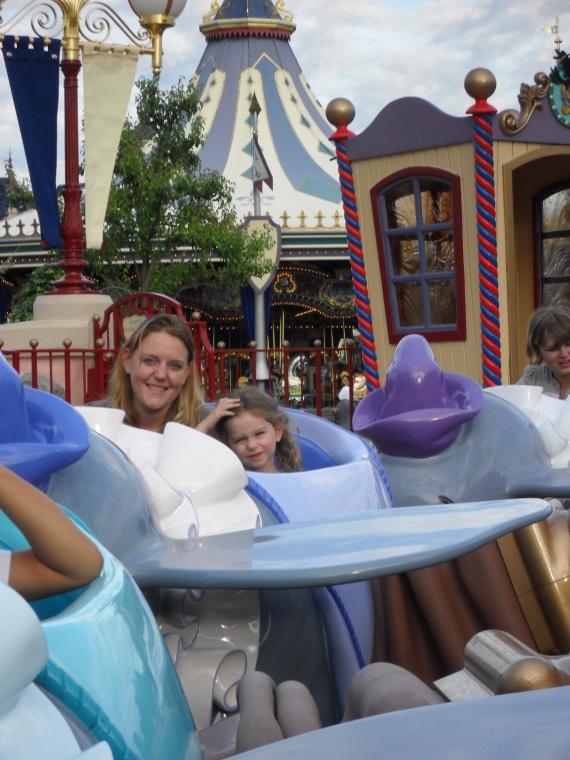 Valentine et maman dans Dumbo