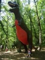 Valentine parc des  dinosaures (Dordogne)