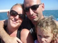 Valentine, papa et maman bateau la Rochelle