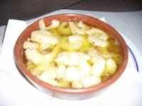 Crevettes à l'ail Lisbonne