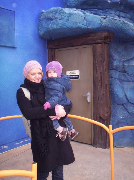 Maman et Valentine à Disney