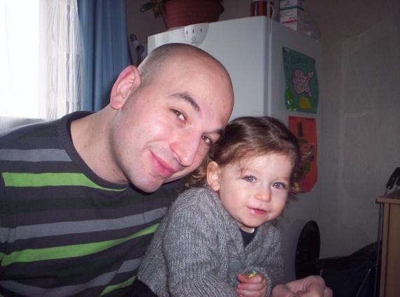 Valentine et papa
