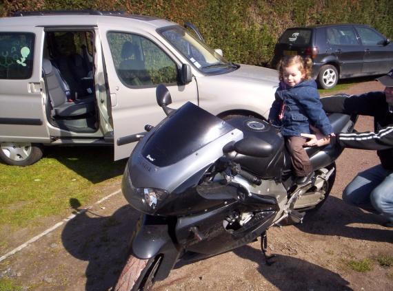 La petite motarde !!!