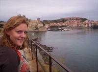 Maman à Collioure