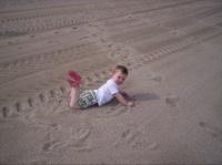 A la plage, tranquille